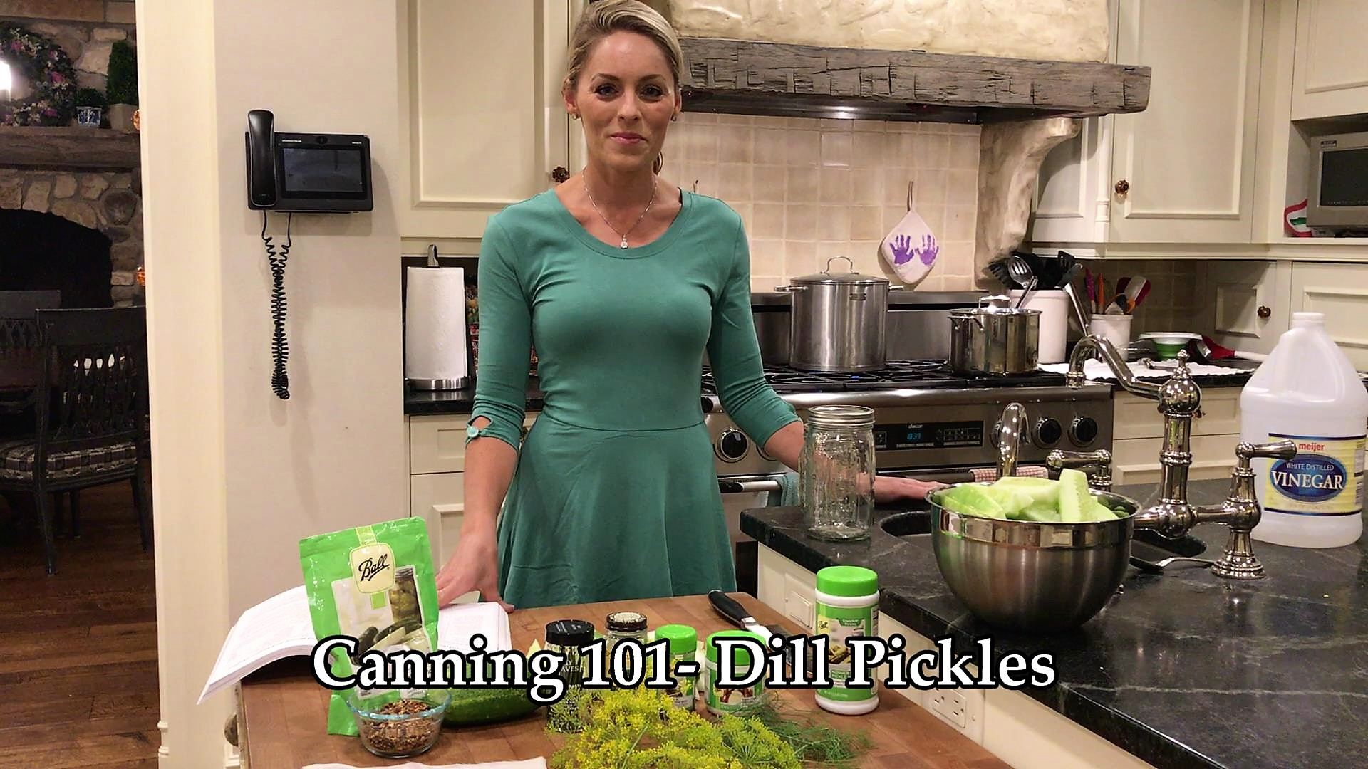 Canning 101 Video- Easy Dill Pickles