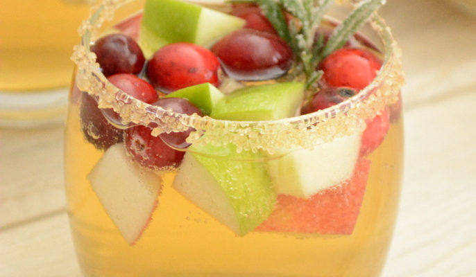 Apple Cider Cranberry Sangria