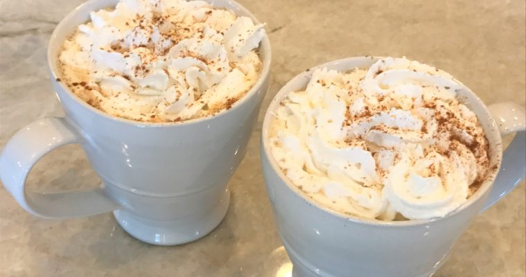 DIY Pumpkin Spice Latte (with video)