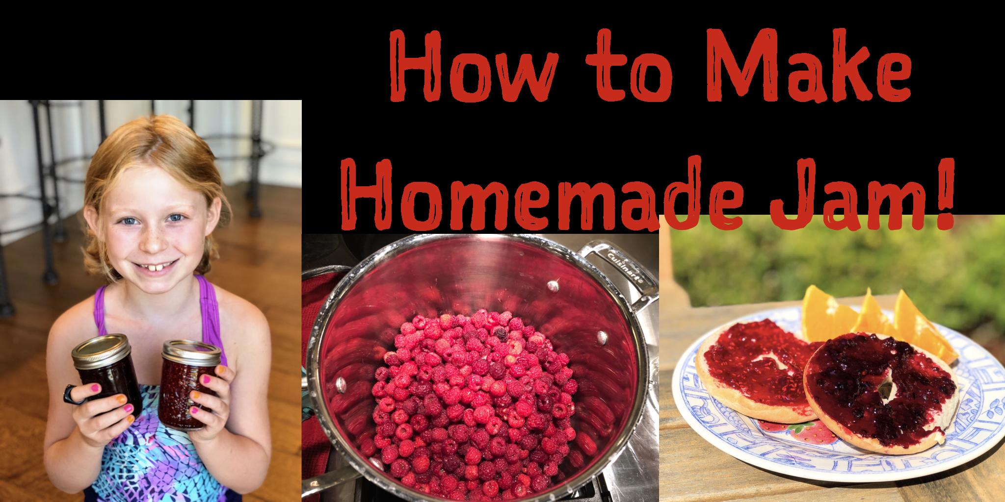 How to Make Berry Jam: Video & Recipe